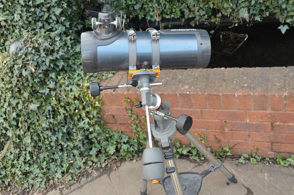 Celestron powerseeker eq reflektor teleskop amazon kamera