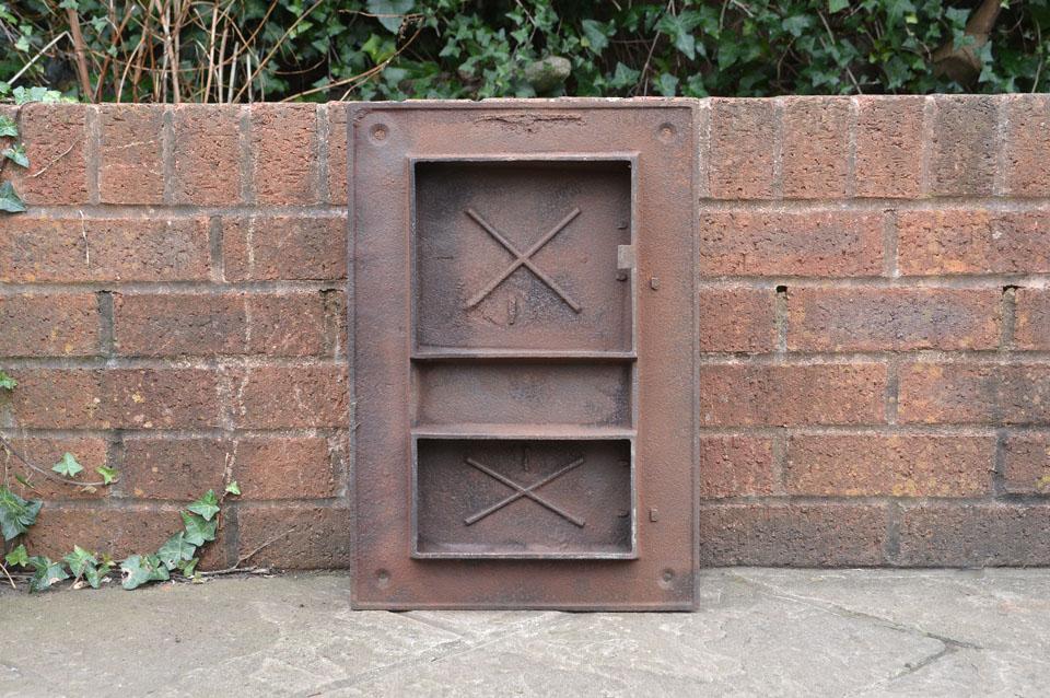 33 x 48 cm old cast iron fire bread oven door doors flue for Door 2 door pizza