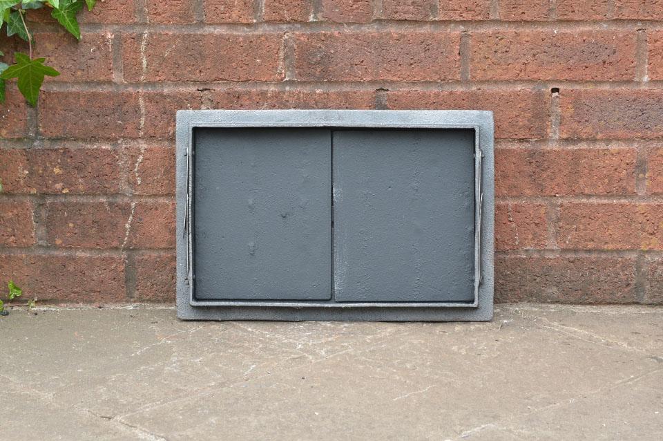 41 2 x 27 3 cm cast iron fire bread oven door doors flue for Door 2 door pizza