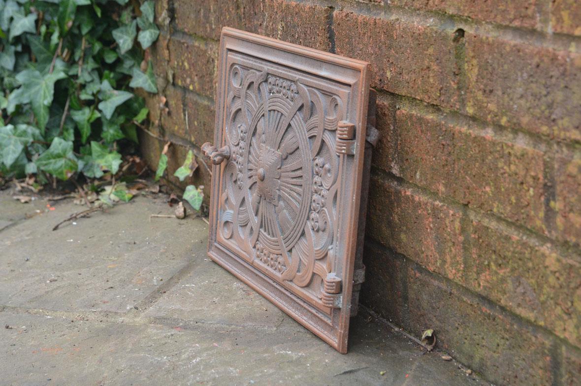32 8 x 26 cm old cast iron fire bread oven door doors for Door 2 door pizza